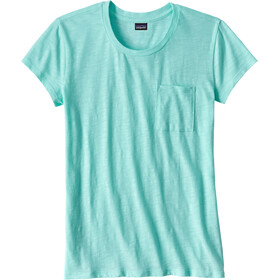 Patagonia Mainstay t-shirt Dames turquoise